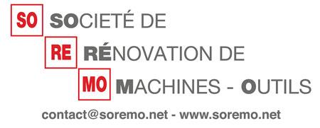 Soremo - Société de rénovation de machines-outils